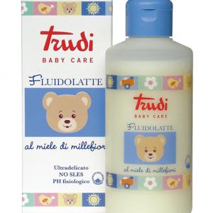 FLUIDOLATTE BABY CARE TRUDI SAPONE DELICATO AL MIELE MILLEFIORI