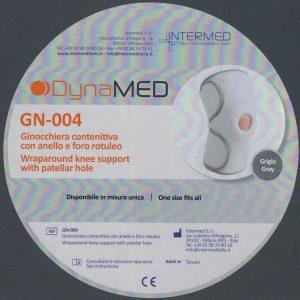 GINOCCHIERA CONTENITIVA DYNAMED CON ANELLO E FORO ROTULEO GN-004 BY INTERMED